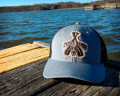 Paddle Dog Trucker Hat in Metal