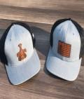 PH Grey Leather hats